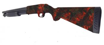 FUSIL A POMPE RED CUSTOM ZOMBIE EDITION COLLECTOR